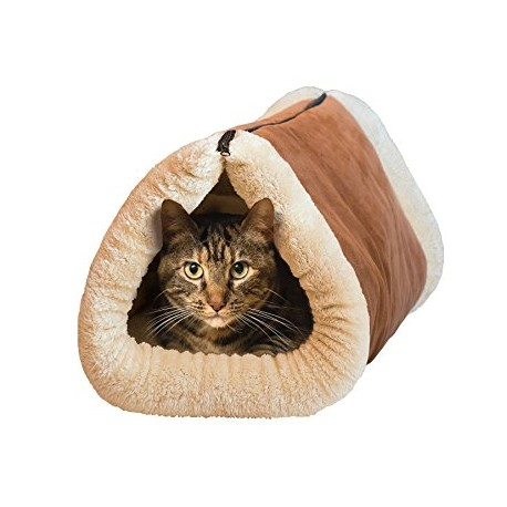Plyšový pelech a podložka pre mačičku 2 v 1