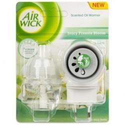 Elektrický osviežovač vzduchu, strojček a náplň - Biele kvety frézie - Air Wick