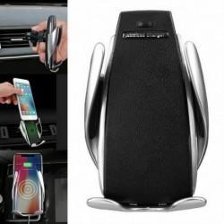 Bezdotykový držiak na telefón so senzorom a bezdrôtovým nabíjaním