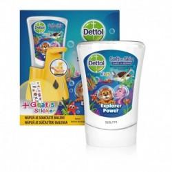 Bezdotykový dávkovač mydla Dettol Kids - ZOO - 250 ml - Dettol