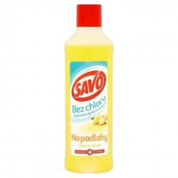 Dezinfekcia na podlahy s vôňou citróna a zázvoru - 1000 ml - Savo