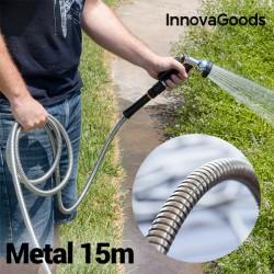 Odolná kovová hadica - 15 m - InnovaGoods