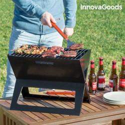 Skladací prenosný gril na drevené uhlie - InnovaGoods