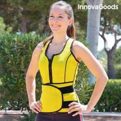 Dámska športová sťahovacia vesta so sauna efektom - InnovaGoods