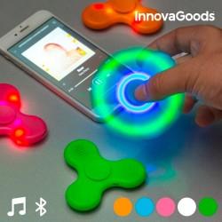 LED fidget spinner s bluetooth reproduktorom - InnovaGoods