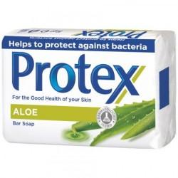 Toaletní antibakteriální mýdlo - Aloe - 6x 90 g - Protex
