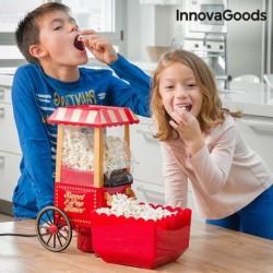 Popkornovač Sweet & Pop Times - 1200 W - červený - InnovaGoods