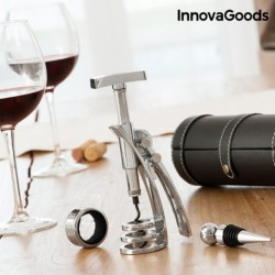 Súprava na víno s vývrtkou Screwpull - InnovaGoods