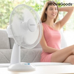 Stolný ventilátor - 35 W - biely - InnovaGoods