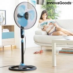 Stojanový ventilátor - 50 W - čiernomodrý - InnovaGoods
