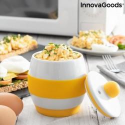 Keramický varič vajíčok do mikrovlnnej rúry Eggsira - InnovaGoods
