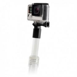 Plávajúca selfie tyč na športovú kameru - transparentná