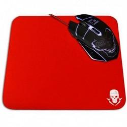 Podložka pod hernú myš GMPR - červená - 25 x 21 cm - Skullkiller