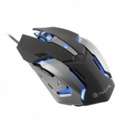 Herná myš s LED GMX-100 - 2400 DPI - čierna - NGS
