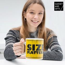 XXL Hrnček - Size matters - Gadget and Gifts