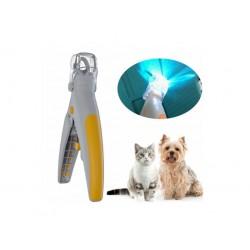 Kliešte na psie pazúriky s LED osvetlením