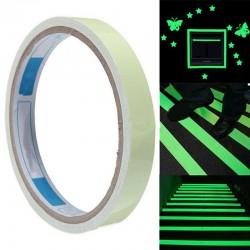 Orientačná a výstražná fluorescenčná páska - 2,9 m - zelená