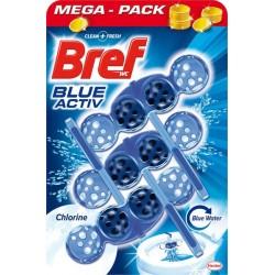 Závesy do WC Blue Aktiv - Chlorine - 3 ks - Bref