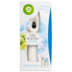 Osviežovač vzduchu + náplň - Freshmatic - Bielizeň vo vánku - 250 ml - biely - Air Wick