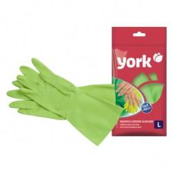 Gumové rukavice s aloe vera - zelené - 1 ks - York