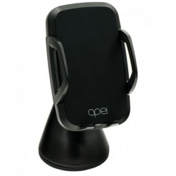 Bezdrôtová nabíjačka do auta Qi C2 - čierna - Apei