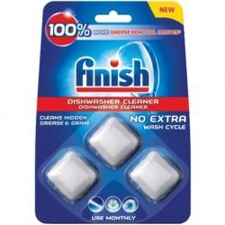Kapsuly na čistenie umývačky riadu - 3x 17 g - finish