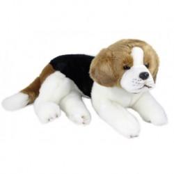 Plyšový psík - bígel - ležiaci - 38 cm - Rappa