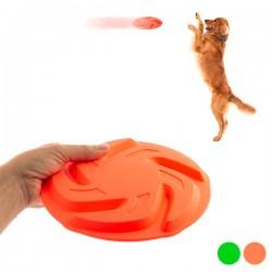 Hádzacie frisbee pre psy - Neon