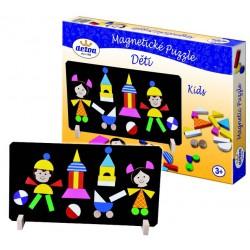 Magnetické puzzle pre deti - Rappa