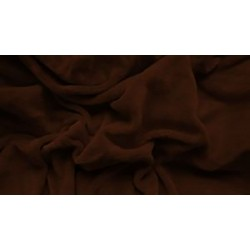 Mikroflanelové prestieradlo - čokoláda - Aaryans