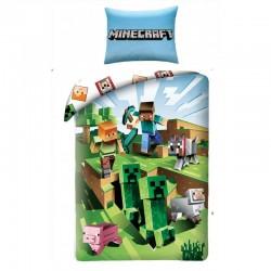 Bavlnené obliečky - Minecraft - Farma - 140 x 200 - Halantex