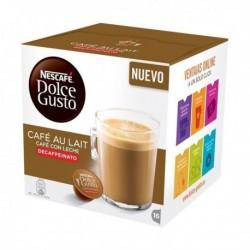 Kapsuly Dolce Gusto - Café Au Lait bez kofeinu - 16 ks - Nescafé