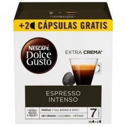 Kapsuly Dolce Gusto - Espresso intenso - 18 ks - Nescafé
