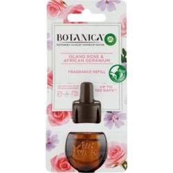 Tekutá náplň do elektrického osviežovača vzduchu - Botanica - Islandská ruža a africká pelargónia - 19 ml - Air Wick