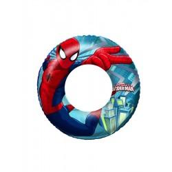 Detský nafukovací kruh - Spiderman - Bestway