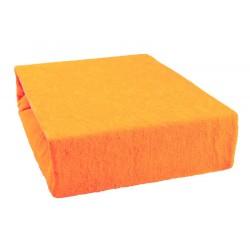 Froté prestieradlo - Oranžové