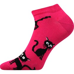 Dámske členkové ponožky - Mačka - Boma