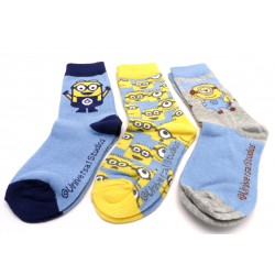Detské ponožky PH4743-1 - Mimoň - 3 páry - MCM