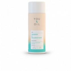 Ošetrujúci šampón na všetky typy vlasov - 200 ml - YOU & OIL