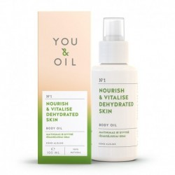 Vitalizačný telový olej na vysušenú pokožku - 100 ml - YOU & OIL