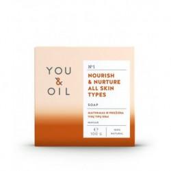 Pestujúce mydlo na všetky typy pleti - YOU & OIL