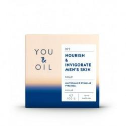 Pánske mydlo posilňujúce pokožku - YOU & OIL