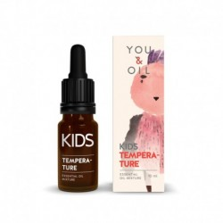 Zmes éterických olejov proti horúčke - pre deti - BIO - 10 ml - YOU & OIL