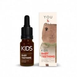 Zmes éterických olejov na prvé zúbky - pre deti - BIO - 10 ml - YOU & OIL