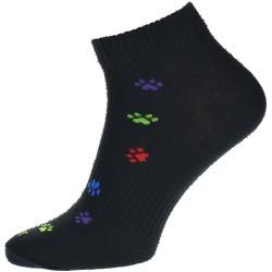 Unisex členkové ponožky - Labky - Tapo