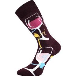 Unisex ponožky - Víno - Voxx