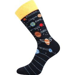 Unisex ponožky - Slnečná sústava - Voxx