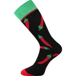 Unisex ponožky - Čili papričky - Voxx