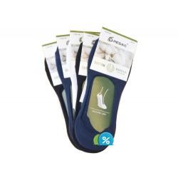 Pánske podčlenkové bavlnené ponožky VSM10B - 5 párov - Pesail