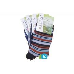 Dámske bambusové ponožky CZ401 - 5 párov - Rota